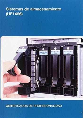 Sistemas de almacenamiento (UF1466) (Tecnología)