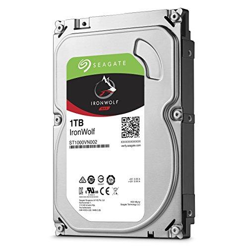 Seagate IronWolf - Disco duro interno 1TB sistemas
