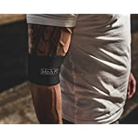 d9ff3ca9b0 ModiFit Black Compression Cuff - Elbow Tendonitis Knee Pain Increase Your  Bench Press Support Pain Relief