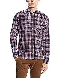 Otto Kern Herren Hemd B.D. Oberhemd, Größe: M, Farbe: Blau