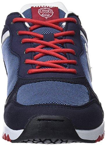 MTNG Herren Gante Sneaker Mehrfarbig (Vertigo Marinomesh F918 Azulaction Pu Blanco Marino)