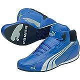 PUMA Kart Cat Mid II Pro (N.F.) Schuhe Unisex Kart-Schuhe Motorsport-Schuhe Blau 301047 03