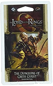 Fantasy Flight Games FFGMEC60 The Dungeons of Cirith Gurat Adventure Pack: Lord of The Rings LCG Exp, Multicolor
