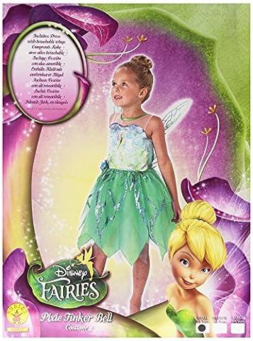 Tinker Belle Pixie Fairy - Disney - Kinder-KostŸm - Klein - 104cm