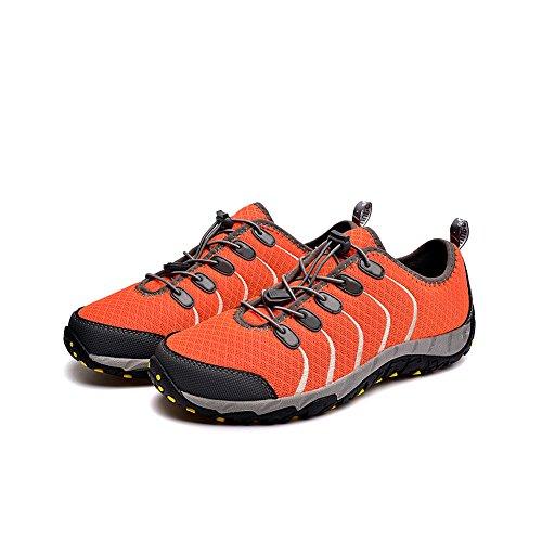fereshte ,  Unisex Erwachsene Biker Boots Orange