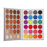 Beauty Glazed 48 Farben Schimmer Glitter Lidschatten Pulver Palette Kosmetik Make-Up Matte Langlebig Warm Farbe Augenschatten Palette Professionelles Makeup Set