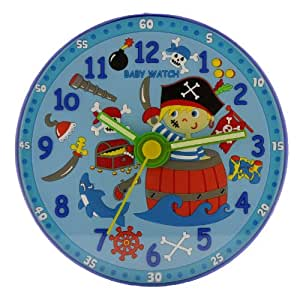 Baby Watch - Pirate - Horloge Enfant - Quartz Analogique - Cadran Bleu