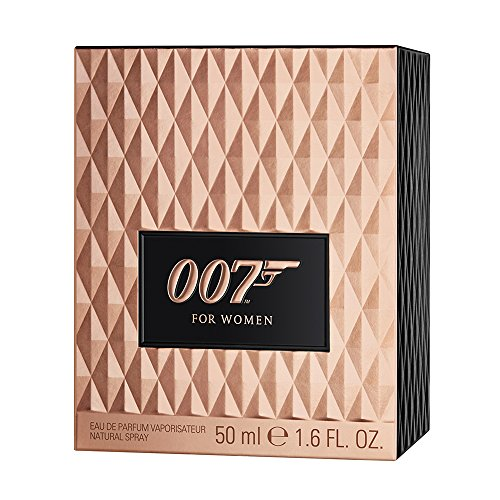 James Bond 007 for Women - Eau de Parfum Damen Natural Spray I - Orientalisch-blumiges Damen Parfüm - wie für ein Bond Girl geschaffen - 1er Pack (1 x 50ml)
