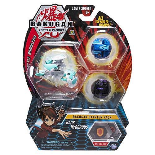 BAKUGAN- Starter Pack Haos Hydorous, (Bizak 61924426)