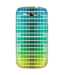 Colour Chips Printed Back Cover Case For Samsung Galaxy S3