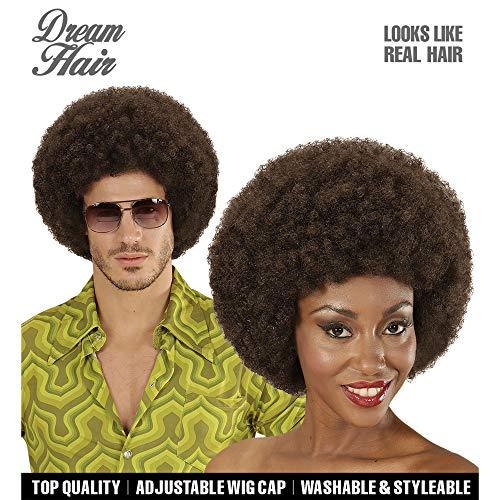 Widmann 06340 Afro Perücke Dream Hair unisex-adult One ()