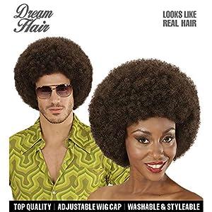 WIDMANN 06340Afro Peluca de pelo talla única