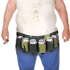 Idea Regalo - BigMouth Inc Camuffamento Cintura di Birra
