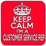 Keep Calm I 'm a Kundenservice REP Getränke Untersetzer
