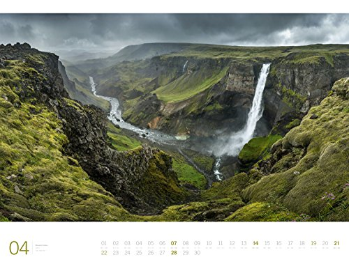 Ansicht vergrößern: Planet Earth - Ackermann Gallery 2019, Wandkalender im Querformat (66x50 cm) - Großformat / Hochwertiger Panorama-Kalender mit Monatskalendarium