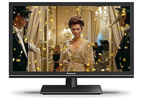 Panasonic TX-24ESW504 60 cm (24 Zoll) LCD Fernseher (HD ready, 600Hz bmr, Quattro Tuner, TV auf IP Client, USB Recording)