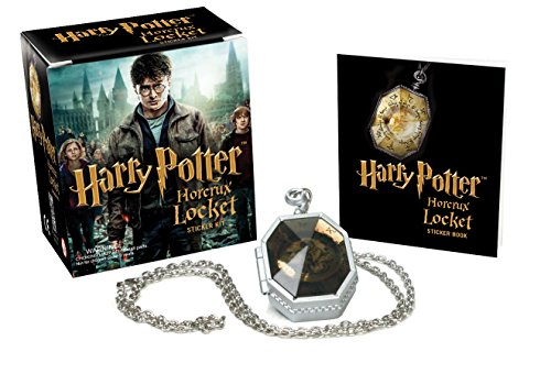 Harry Potter Locket Horcrux Kit and Sticker Book (Miniature Editions) -