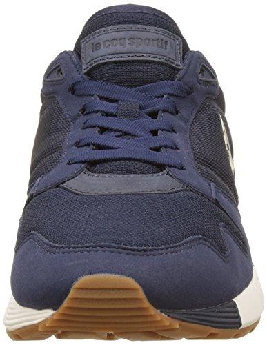 Le Coq Sportif Omega X Craft, Baskets Basses Homme Bleu (Dress Blue)