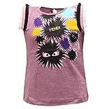 Fendi 0463S Maglia Bimba Girl MOSTRI Multicolor t-Shirt [10 Years]