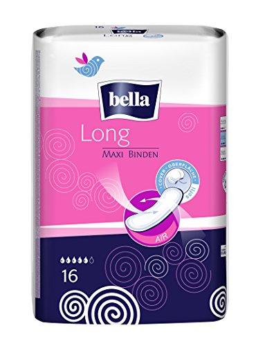 Bella Maxi Binden Long, 5er Pack(5 x 16 Stück)