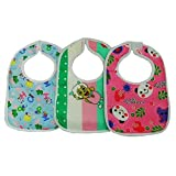 #5: Funny Kid Printed Baby Feeding Multi Color Bib For 0-6 Months Baby
