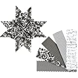 Papierstreifen für Fröbelsterne, B: 40 mm, D: 18 cm, Paris, 40sort., L: 100 cm