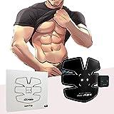 Addominali Trainer Elettrostimolatori Donna/Uomo Massaggi-cintura Ricaricabile USB Carica--05(1 Apparato)