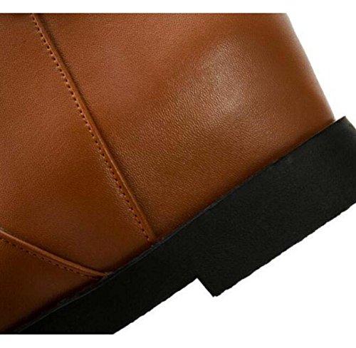 All'interno Dell'aumento Martin Stivali Donne Con Scarpe Basse Black(thick)