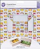 Wilton Cupcake Heaven Schachteln für 6 Standard-Cupcakes/Muffins 2Stück
