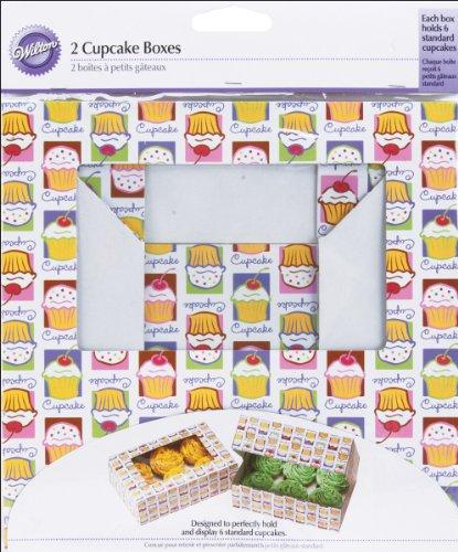 Wilton Cupcake Heaven Schachteln für 6 Standard-Cupcakes/Muffins 2Stück (Dekorieren Cupcakes Kuchen Wilton)