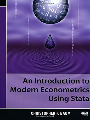 An Introduction to Modern Econometrics Using Stata by Baum, Christopher F. (August 17, 2006) Paperback