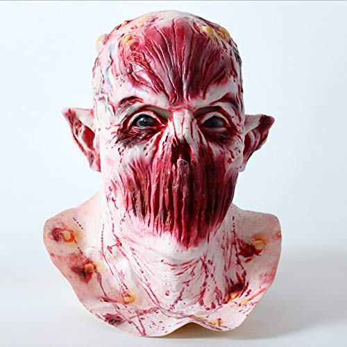 baoqsure Vorfall Maske Schreckliche Face Zombie Böse Figuren Halloween Horror Hexenvoll-face Latex Maske Festival Party Bietet Halloween (Beste Tv-figuren Halloween-kostüme)