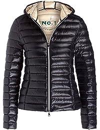 Jacke schwarz glanzend