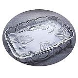 JANSUDY Wohnzimmer Glas Snack Tablett Kann SüßIgkeiten/Pistazien/Erdnuss Gelagert Werden