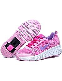 Zapatillas para niñas. con Ruedas automáticas retráctiles.