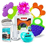 Baby Teething Toys Set of 5: 3 Silicone - Best Reviews Guide