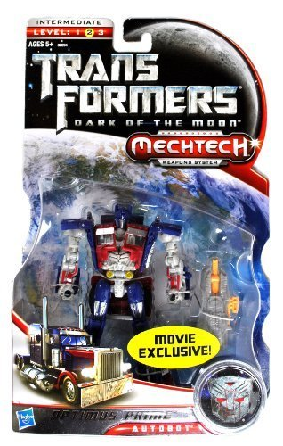 Transformers - 32094 - Dark of the Moon - MOVIE EXCLUSIVE - Deluxe Class - Mechtech Autobot OPTIMUS PRIME (Transformers Optimus Deluxe Prime)