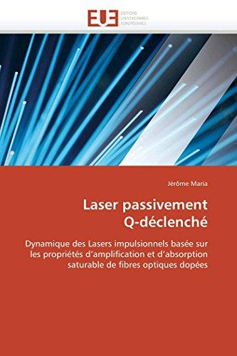 Laser passivement q-déclenché