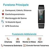 Fitness Tracker, Willful Orologio Braccialetto Fitness Watch Schermo a Colori Cardiofrequenzimetro Uomo Donna Impermeabile IP68 Nuoto Pedometro da Polso Activity Tracker Smartwatch per iOS Android