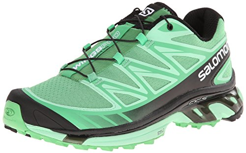 Salomon Wings Pro Women's Chaussure Course Trial - SS15, green, 41 1/3