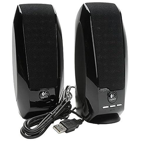 Logitech S150 Digital USB Haut-parleurs multimédia PC USB 1,2 W Noir