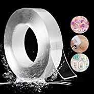 RC Enterprises Reusable and Washable Double Sided Adhesive silicon Tape with Multi-Functional Anti-Slip Double