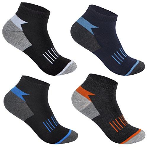 6 Paar Herren Sneaker Socken Thermosocken aus Bambus antibakteriell 92254 43-46