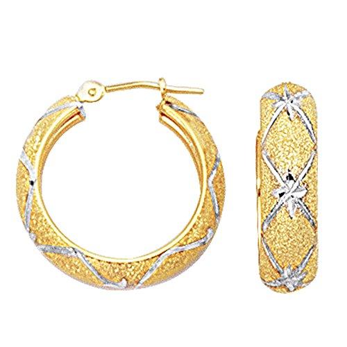 10k-2tone-wei-und-gelb-gold-diamant-schnitt-texturierte-creolen-rund-durchmesser-22mm