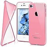 Housse de protection OneFlow pour iPhone 4 / 4S housse silicone Case en TPU de 0,7mm...
