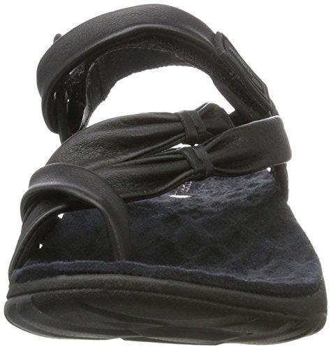 Merrell Vesper Convertible, Sandales Bout Ouvert Femme Noir (Black)