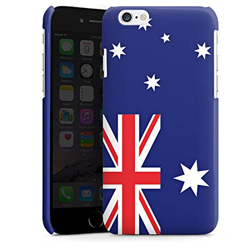 Apple iPhone 4 Housse Étui Protection Coque Australie Drapeau Ballon de football Cas Premium brillant