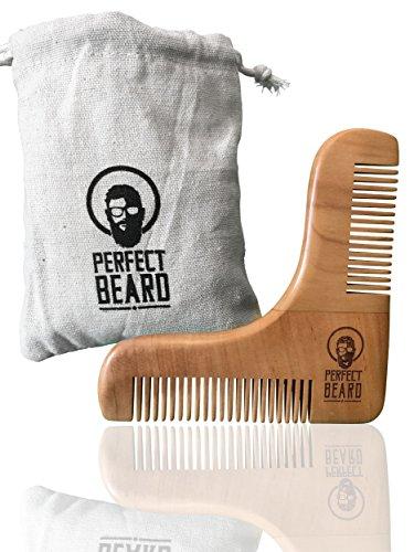 PREMIUM-ANGEBOT-Echtholz-Bart-Schablone-Bartkamm-Ergebnisse-wie-vom-Barbier-Rasurvorlage-Bartvorlage-keine-Rasurfehler-perfektes-Styling-Einfache-Bartpflege-kinderleichtes-Schneiden-der-Bartlinien-Sau