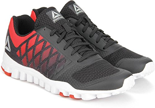 Reebok Men's Realflex Tr Xtreme Red Rush/Black Running Shoes  - 8 UK/India (42 EU) (9 US)  available at amazon for Rs.4399