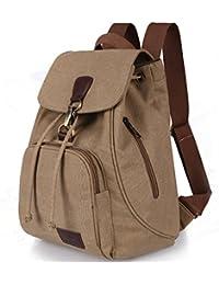 Women Ladies Retro Canvas Backpack, WITERY Vintage Design Trendy Rucksack Casual Travel Shoulder Bag / Portable Handbag / College Daypack Backpack / Computer Laptop Bags